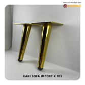 Kaki Sofa K103 Stainless New Model
